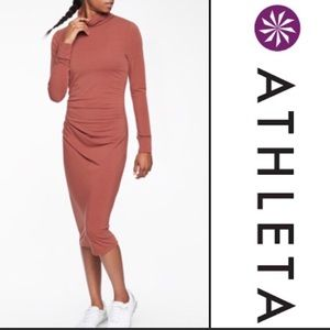 Athleta Industry Turtleneck Dress NWT XS